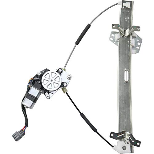Front Window Regulator for Honda Accord 03-07 Left Power W/Motor 4-Door Sedan ()