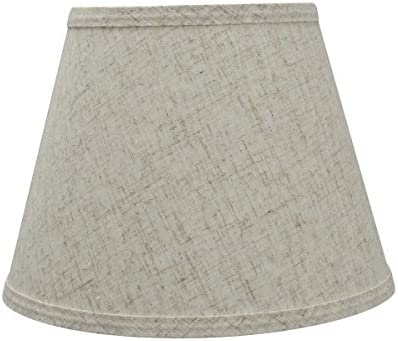 Aspen Creative Beige, 58851 Transitional Hardback Empire Shape UNO Construction Lamp Shade, 10 Wide 6 x 10 x 7 1 2 , 7-1 2
