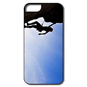 Graphic Designed Apple Iphone 5 5s Phone Case-sports Rock Climbing Iphone 5 5S Shells