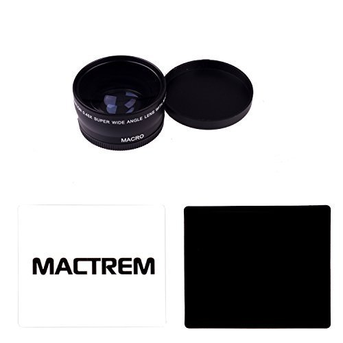 Mactrem 0 45x 58mm High Definition Wide Angle Lens with Built-in Detachable Macro Lens for Canon Nikon DSLRの商品画像
