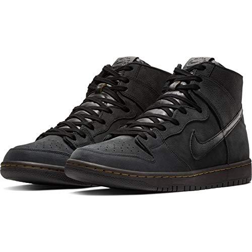Nike SB Dunk High Decon AR7620-002 Black/Black 8.0