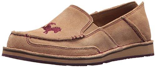 Ariat Women's English Cruiser Slip-on Shoe, Camel, 7 B US