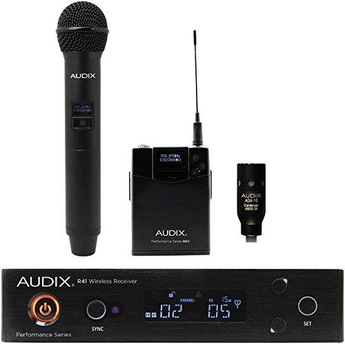 Audix AP41 OM2 L10 Lavalier Wireless System 518-554 MHz (AP41OM2L10A