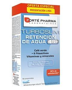 Forté Pharma Turboslim Retención de Agua 45+. - Presentación 1 Mes 56 Comps.: Amazon.es: Salud y cuidado personal