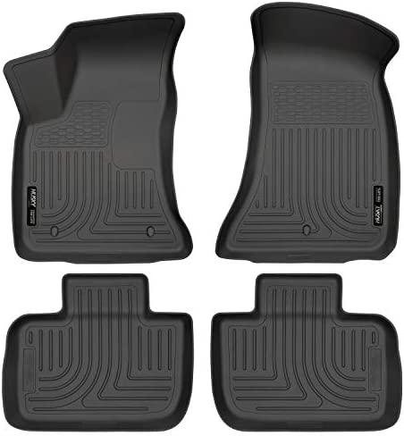 Husky Liners Black 98061 Front & 2nd Seat Floor Liners Fits 11-19 300/Charger RWD