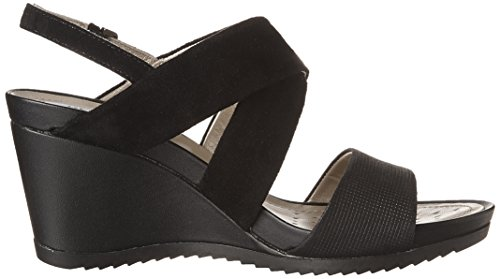 Rorie Women's Sandal New D A Black Heeled Geox wgFt7BqB