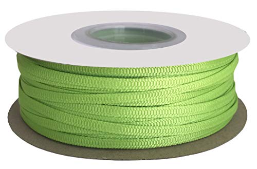 - DUOQU 1/8 inch Wide Grosgrain Ribbon 100 Yards Roll Multiple Colors Apple Green
