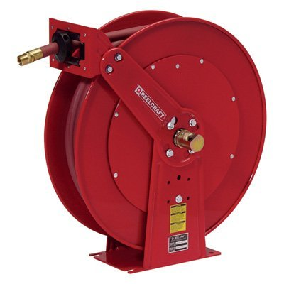 Reelcraft Hose Reel - Holds 3/4in. x 50ft. Hose Spring Retractable  sc 1 st  Amazon.com & Amazon.com: Reelcraft Hose Reel - Holds 3/4in. x 50ft. Hose Spring ...