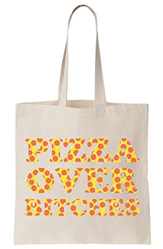 Canvas Tote B Pizza Over ches Bag Cx1wtq5