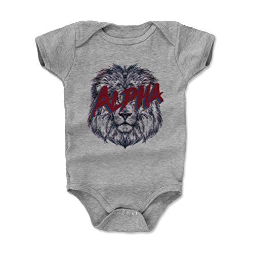 Bald Eagle Shirts Lion Baby Clothes, Onesie, Creeper, Bodysuit - Alpha Lion (Heather Gray, 3-6 Months)