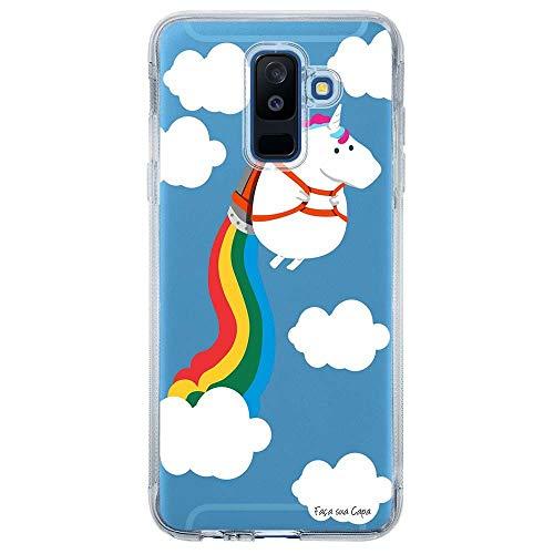 Capa Personalizada Samsung Galaxy A6 Plus A605 Unicórnio - TP184