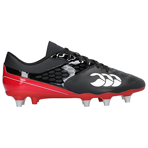 Canterbury Phoenix Raze SG Rugby Boots - AW17 - 8. - Black by Canterbury