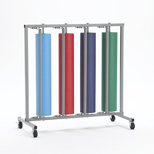 Four Paper Roll Vertical Dispenser Rack 36