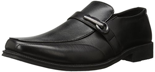 Cervo Cervo Mens Lancaster Slip-on Mocassino Nero