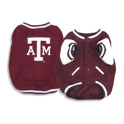 (Sporty K9 Texas A&M Varsity Dog Jacket, Small)