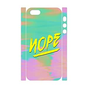 Nope Design Cheap Custom 3D Hard Case Cover for iPhone 5,5S, Nope iPhone 5,5S 3D Case