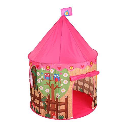 Shirleyle Tienda Plegable portátil del Juego para la casa de Juegos al Aire Libre Interior del niño de los niños