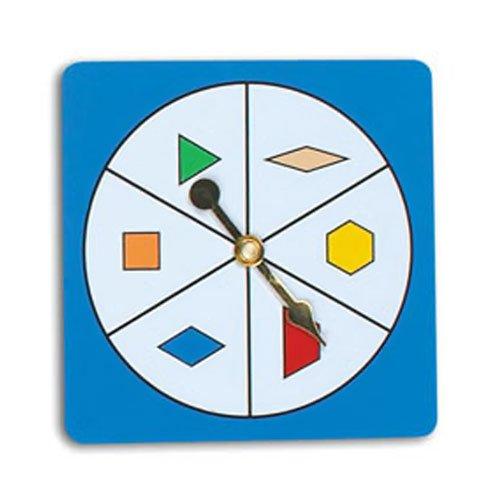 - EAI Education Pattern Block Spinner - Set of 5
