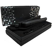 "New Royale Black 1.5"" Nano Ceramic Ionic Flat Iron/ Hair Straightener (Royale)"