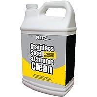 FLITZ Flitz Stainless Steel & Chrome Cleaner w/Degreaser - 1 Gallon / SP 01510 /