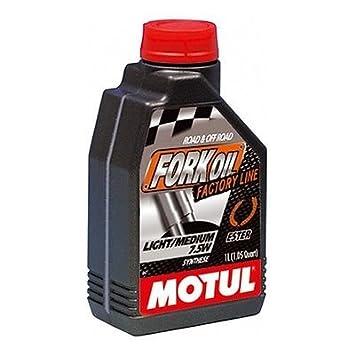 MOTUL Aceite/Lubricante sistemas Amortiguadores 100% sintético Factory Line 7,5 W: Amazon.es: Coche y moto