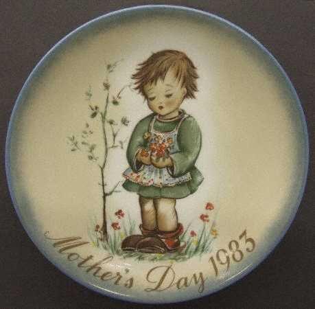 Schmid Hummel ** 1983 Mother's Day Plate - Spring Bouquet ** 177-122 (Schmid Mothers Day Plate)