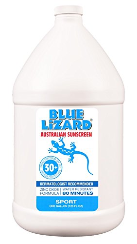 Blue Lizard Australian Sunscreen SPF 30+, Sport, 1- Gallon Jug