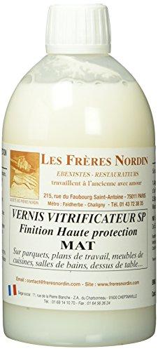 Les Freres Nordin 152533 Vernis Vitrificateur Mat Amazon Fr Bricolage