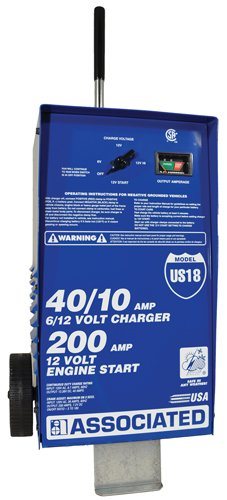 Associated Equipment US18 6/12 Volt Value Battery Charger by Associated Equipment