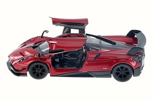 2016 Pagani Huayra BC, Red - Kinsmart 5400D - 1/38 Scale Diecast Model Toy Car (Brand New but NO BOX)