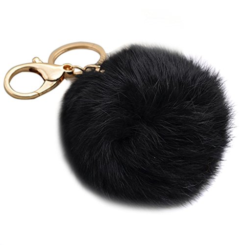 Fluffy Rabbit Keychain Handbag Pendant product image