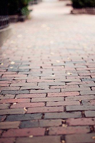 Brick Sidewalk in Boston's Beacon Hill