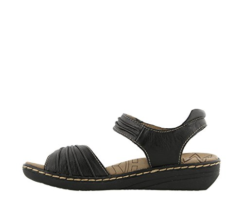 Taos Sandal Women's Strap Escape Black Ankle FFaBHwq