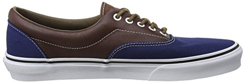 estate Scarpe Multicolore Soil Unisex leather Adulto Da plaid Basse Vans Ginnastica Era Blue potting v5qFAwB