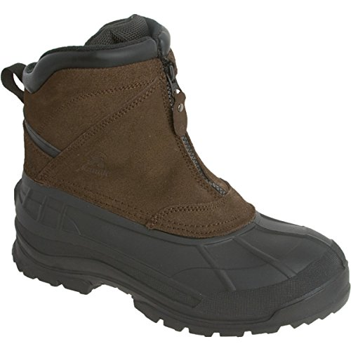 Kamik Men's Champlain Cold Weather Boot,Dark Brown,10 M US