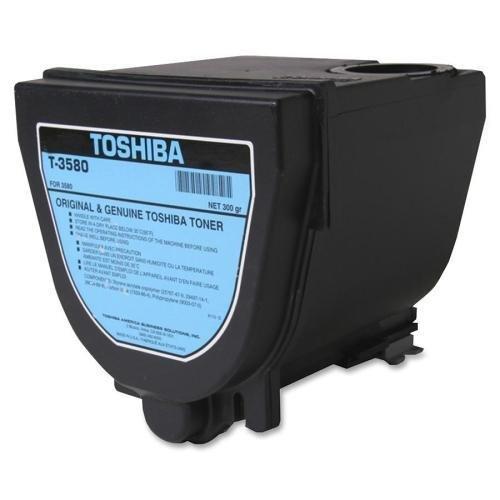 - Toshiba Toner Cartridge,f/ DP3580 Copier,40000 Page Yield,Black (T-3580)