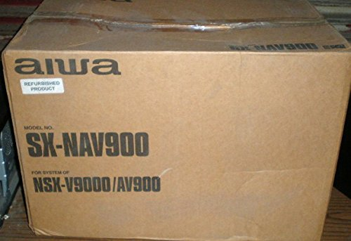 (Aiwa SX-NAV900 3-Way Bass Reflex Speaker System - Great for NSX-V9000 / AV900)