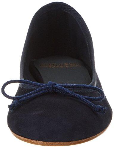 Fred de la Bretoniere Ballerina Suede, Bailarinas para Mujer azul (navy)