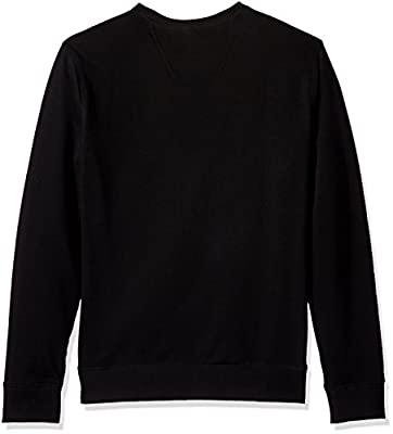 Calvin Klein Jeans Men's Graphic Stripes Logo Crew Neck Sweatshirt