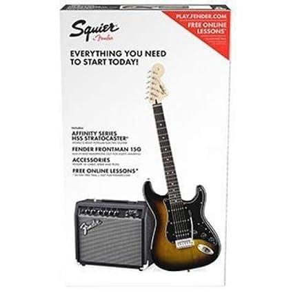 Squier Affinity PJ Bass Pack BLK · Set de bajo eléctrico
