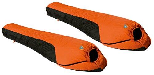 Alpinizmo High Peak Water Proof, Wind Proof and Breathable Mt. Rainier 0F Sleeping Bag (Set of 2) ()