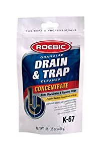 Amazon Com Roebic Bacteria Amp Enzyme Drain Cleaner And