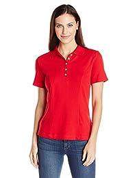 Riders by Lee Indigo Women's Morgan Short-Sleeve Polo Shirt