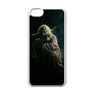 5c caso de Star Wars Yoda funda iPhone U6P68N3TO funda 43B858 blanco
