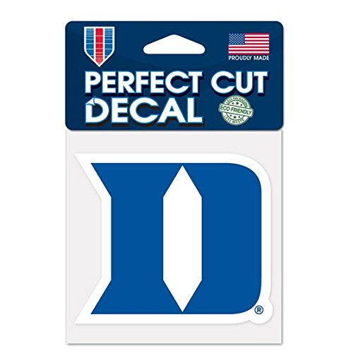 (WinCraft NCAA Duke University Perfect Cut Color Decal, 4
