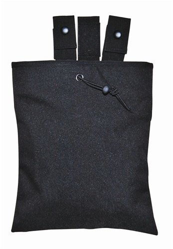 Black 3 fold Recovery Dump Pouch