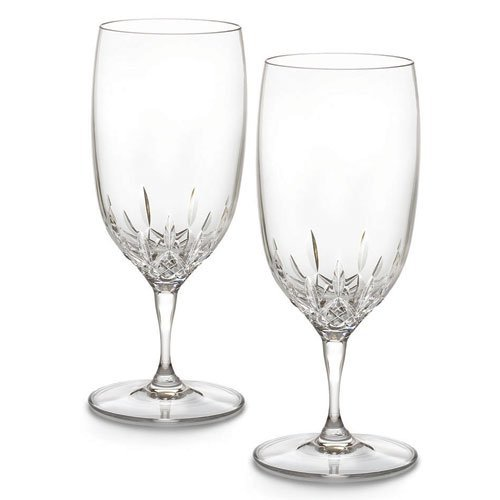 Waterford Lismore Essence Water Glass, Set of 2 Essence Iced Beverage Glass