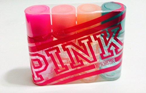 Body Mist Mix (Victoria's Secret PINK 4 Travel size Body Mix set 74ml/2.5 oz / each)