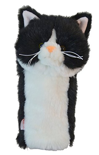 Daphne's Headcovers Tuxedo Cat Golf Club Head Cover For Hybrid - Cat Golf Headcover