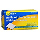 Sunmark Sterile Alcohol Prep Pads, with